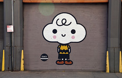 Peanuts Global Artist Collective Mural - Hudson Square neighborhood, New York City