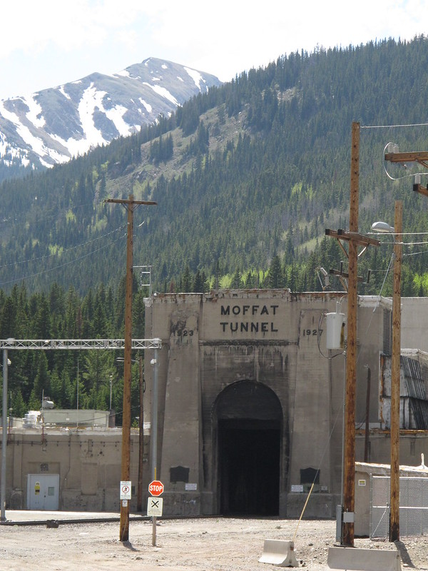 East portal of the Moffatt Tunnel, CO.