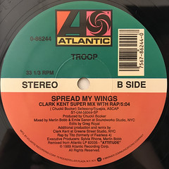 TROOP:SPREAD MY WINGS(LABEL SIDE-B)