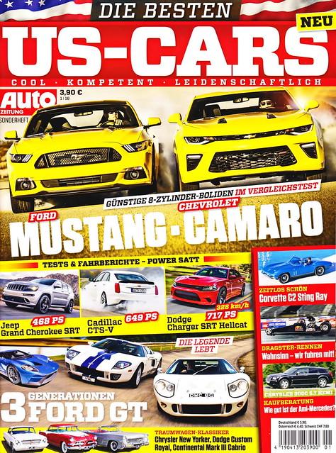 Auto Zeitung - US-Cars 1/2016