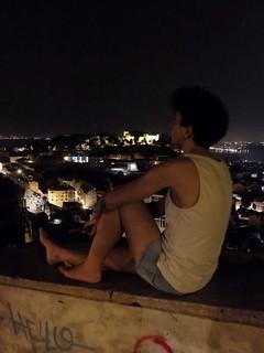 Hora mágica en Lisboa