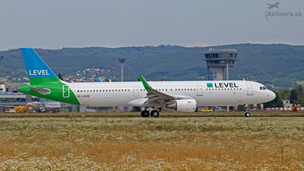 OE-LCN Level Airlines Airbus A321-211(WL)