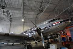 Douglas DC-3 at the Delta Flight Museum Atlanta Georgia