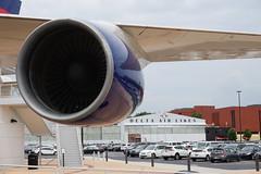 Boeing 747-400 at the Delta Flight Museum Atlanta Georgia