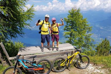 Bike SNOW tour: Val di Non – pěšky, na kole i kajaku