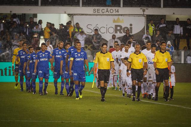 Santos x Cruzeiro 01/08/2018