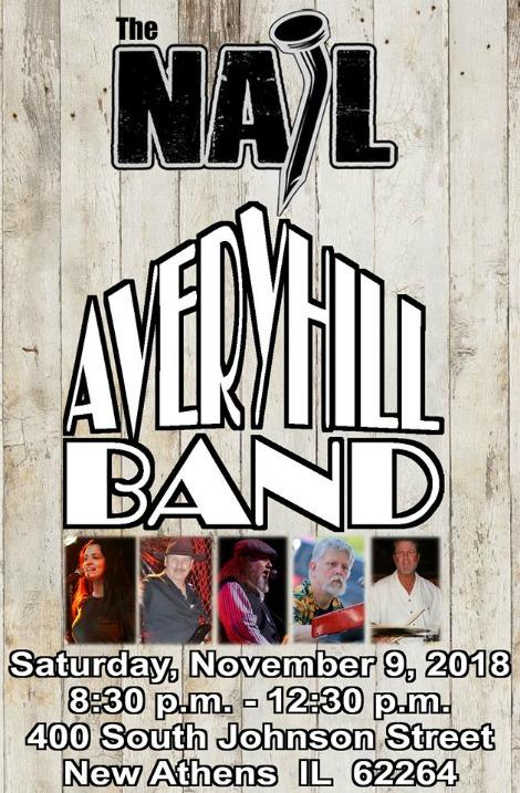 Avery Hill 11-9-18