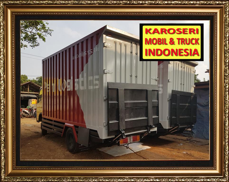 Karoseri Mobil & Truck - Tail Gate System