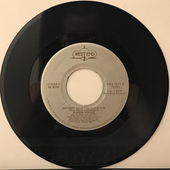 KAREN YOUNG:HOT SHOT(RECORD SIDE-A)