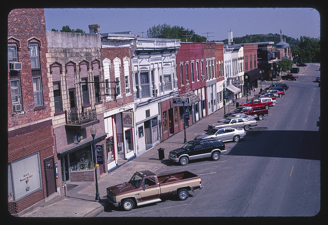 Main Street, Columbus Junction, Iowa (LOC)