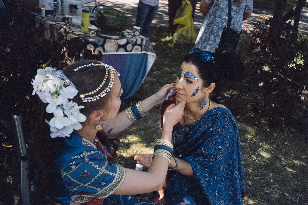 «Ethnic make-up» (Days of India in Moscow)