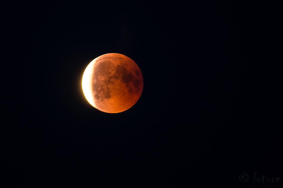 Lunar, eclipse, blood, moon, Velinga, Västra, Götaland, län, Sweden, Rootsi, Sverige, Kaido Rummel