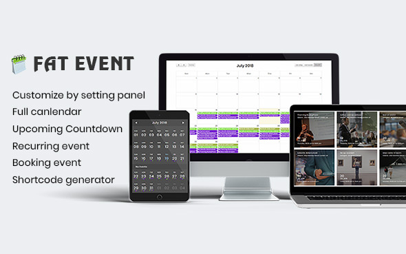 FAT Event v1.20 – WordPress Event and Calendar Booking