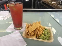 Admirals Club Bloody Mary & Guacamole