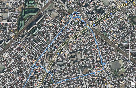 八丁畷〜京町〜鶴見市場