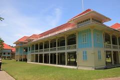 Thailand 2013 - 12.Tag, Cham Am, Palast Phra Ratchaniwet Marukkhathaiyawan