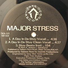 MAJOR STRESS:MORE & MORE(LABEL SIDE-B)