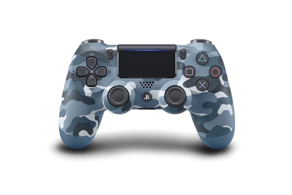 DualShock 4 (Blue Camo)