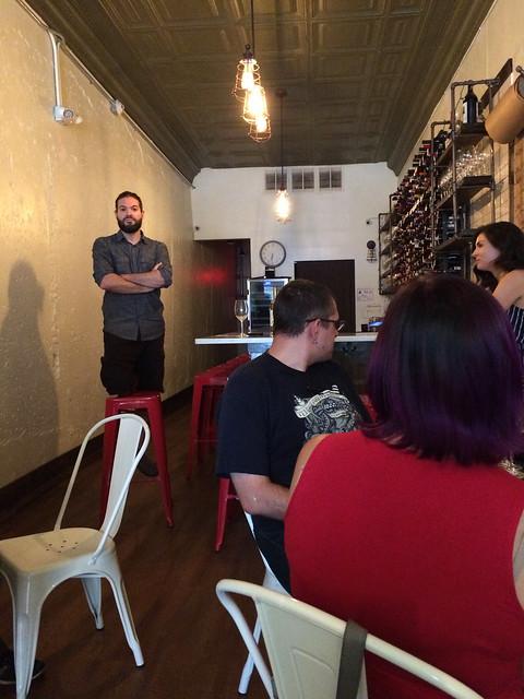 Esteban Brunello at Bar Brunello, Durham, NC