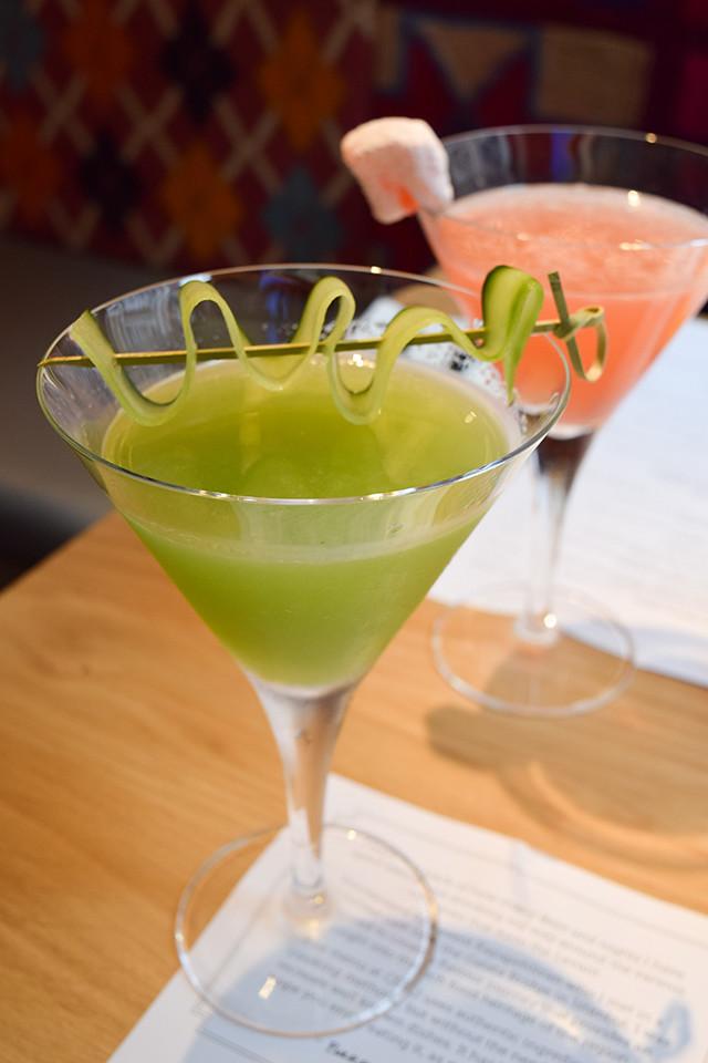 Cocktails at Ceru, Soho