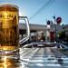 Drink, Estrella, Ibizan style. . .