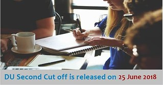 DU Second Cut Off is released on 25 June 2018