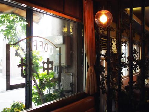 津の喫茶店:中村珈琲内装