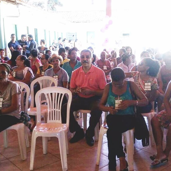 Reunião do Sindicato dos Trabalhadores Rurais
