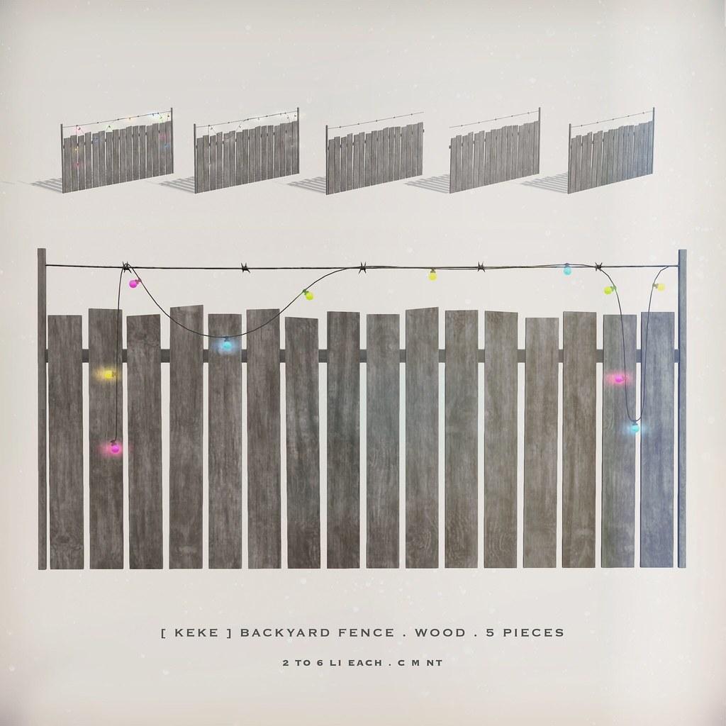 [ keke ] backyard fence - TeleportHub.com Live!