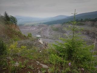 View from Liban Pass, Transylvania