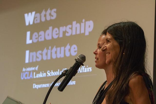 Watts Leadership Institute celebration