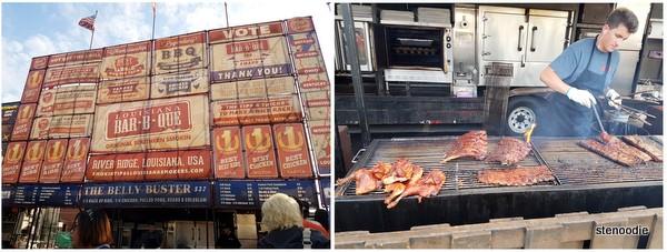 Louisiana BBQ ribs
