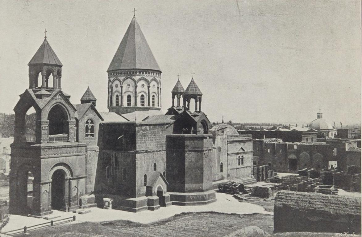 10. Монастырь Эчмиадзина, близ Эривана