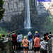 Tourists at Taughannock Falls