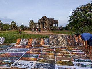 Artista plástico, Angkor Wat, Camboya