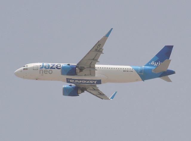 Jazeera Airways Airbus A320-251N Neo 9K-CAQ cn 7936