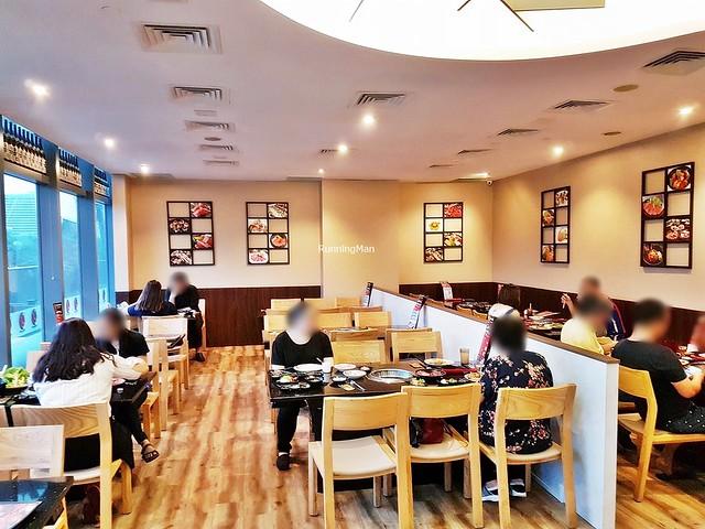 Tenkaichi Japanese BBQ Restaurant Interior