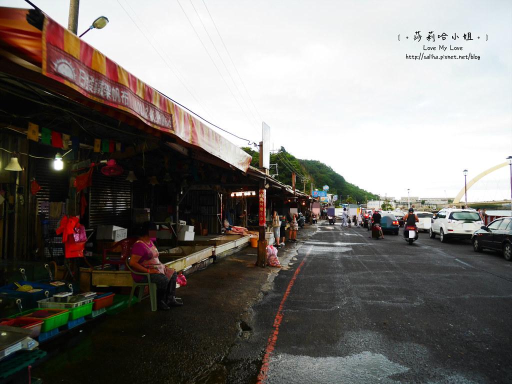 基隆吃海鮮推薦和平島漁市大街 (2)