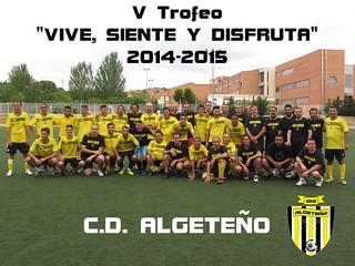 V Trofeo VIVE, SIENTE Y DISFRUTA 2015