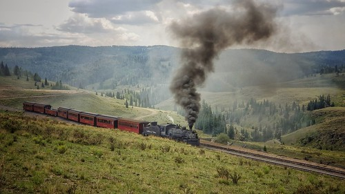 cumbres toltec train steamtrain steamlocomotive steamengine adventure colorado newmexico narrowgauge landscape nature mountains