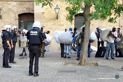 2018_08_12-Despliegue policial en la Barceloneta en contra de la venta ambulante-Manuel Roldán-04