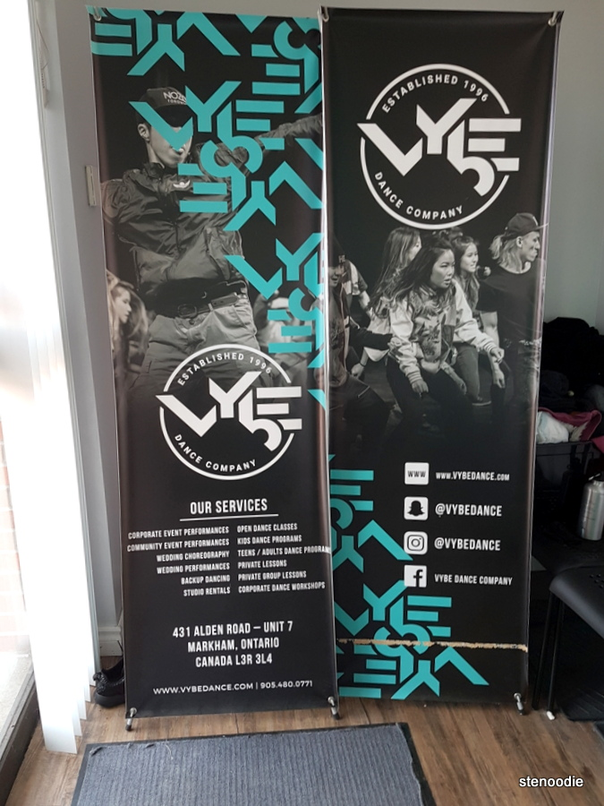 VYbE Dance Company poster
