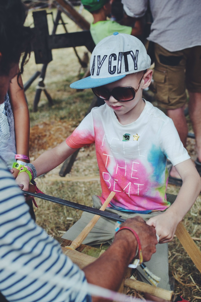 Wand Smithing Camp Bestival