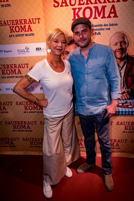 "Sebastian Bezzel & Rita Falk zu ""Sauerkrautkoma"" live im CINEWORLD - August 2018"