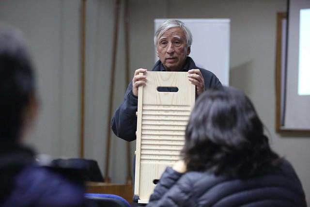 Charla Manuel Baquedano