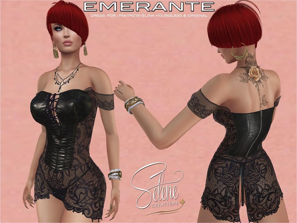 Emerante Black - TeleportHub.com Live!