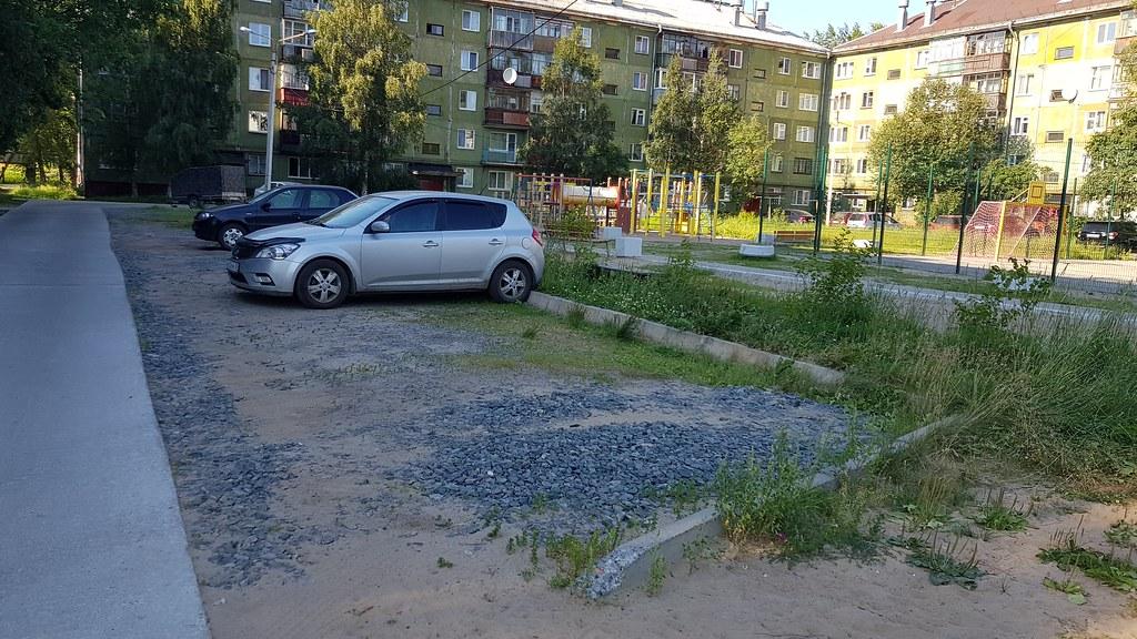 Благоустройство в Новодвинске