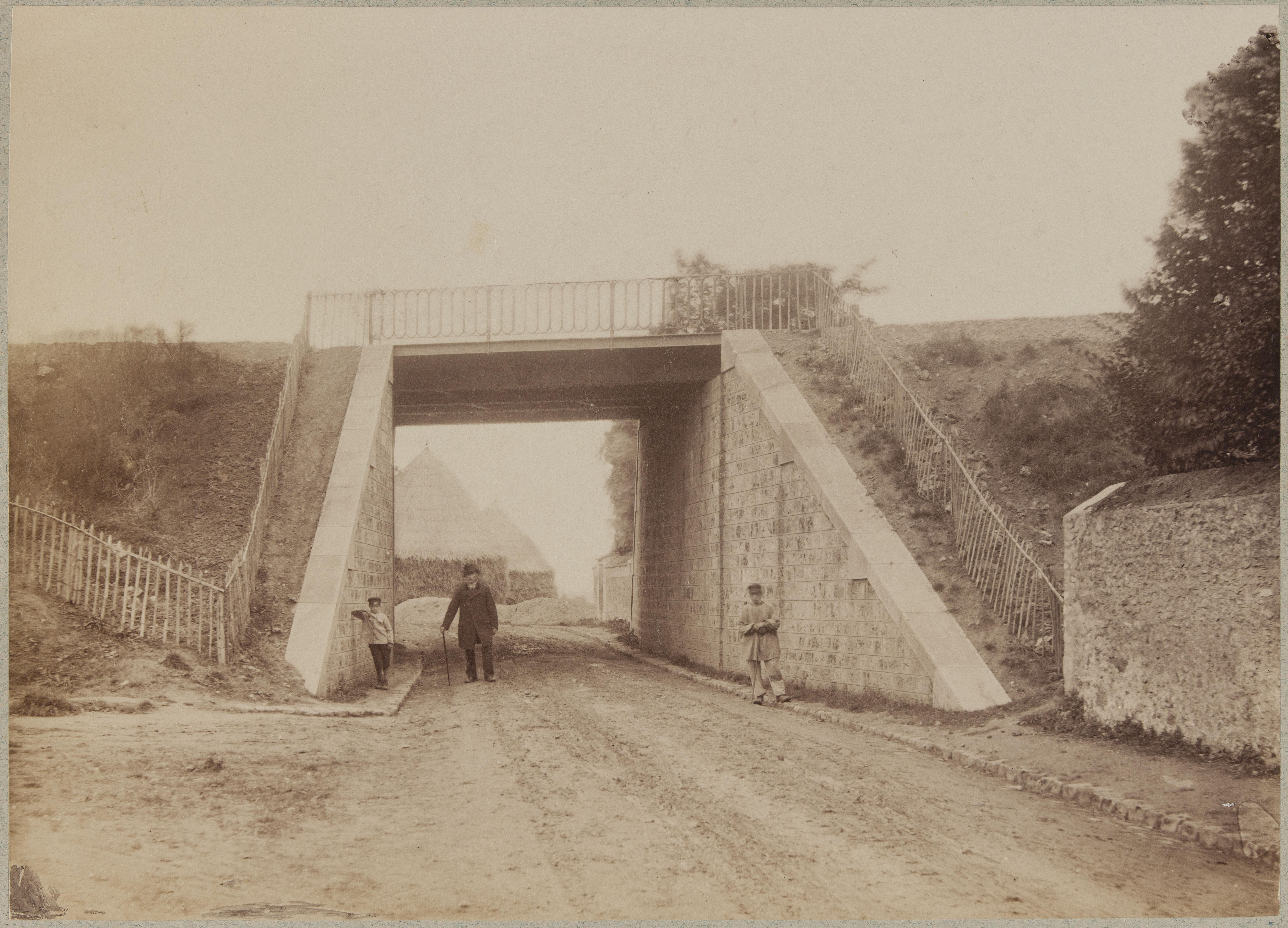 Нижний путепровод возле Орли