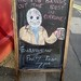 Pass the chalk....