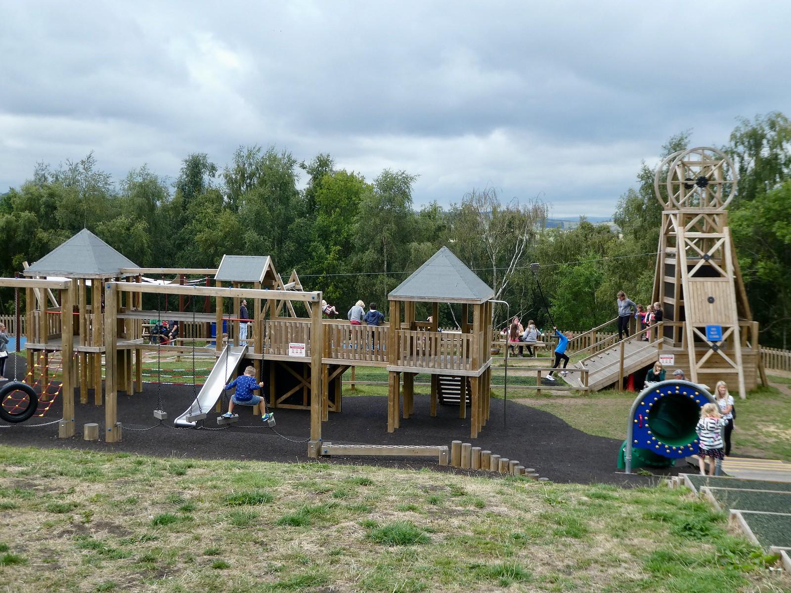 Adventure playground, National Coal Mining Museum
